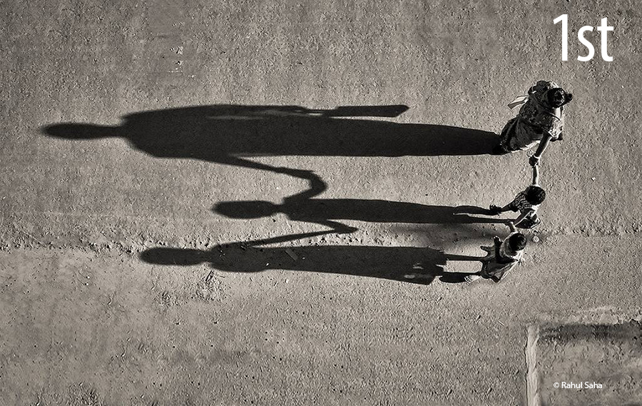 People and shadow