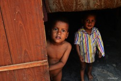 Children's in Rohingya refugee camp are living in pretty unhygienic environment. They are immune to various diseases